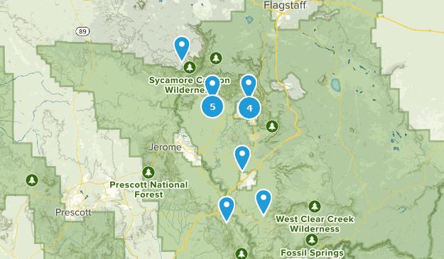 Map Of Arizona Driving.Best Off Road Driving Trails Near Sedona Arizona Alltrails