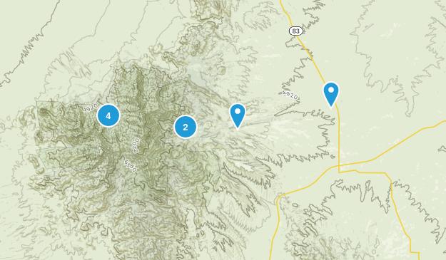 Sonoita, Arizona Hiking Map