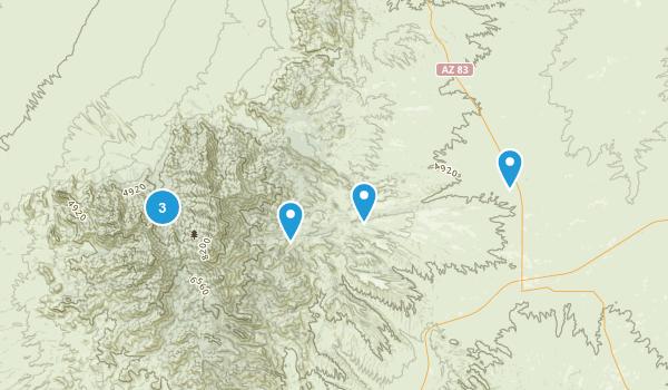 Sonoita, Arizona Nature Trips Map