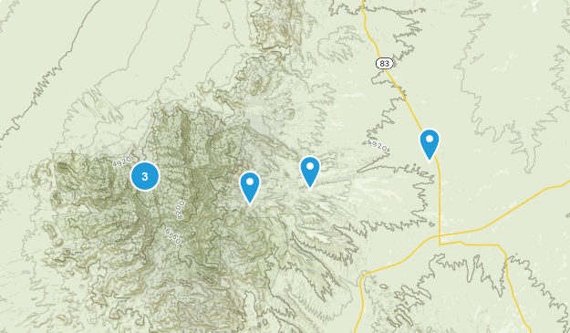 Sonoita, Arizona Walking Map