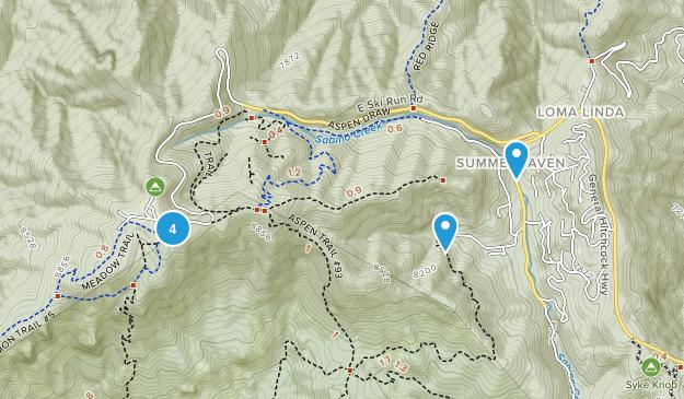Summerhaven, Arizona Nature Trips Map