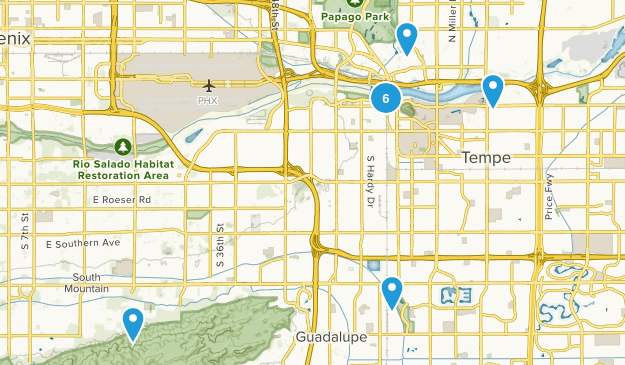 Tempe, Arizona Kid Friendly Map