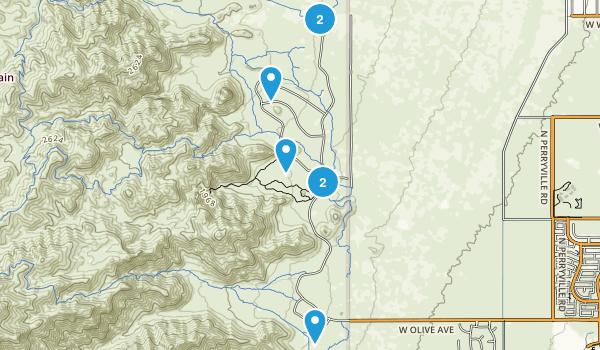 Waddell, Arizona Birding Map