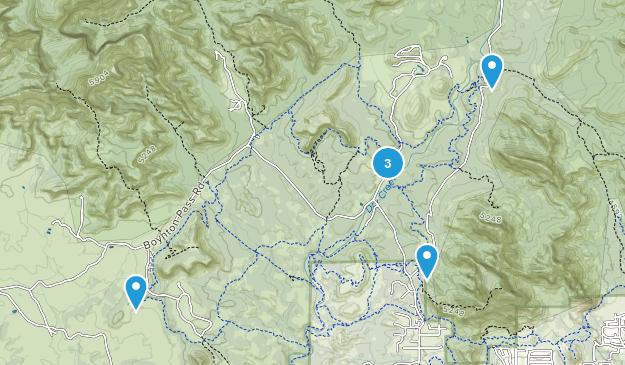 West Sedona, Arizona Birding Map