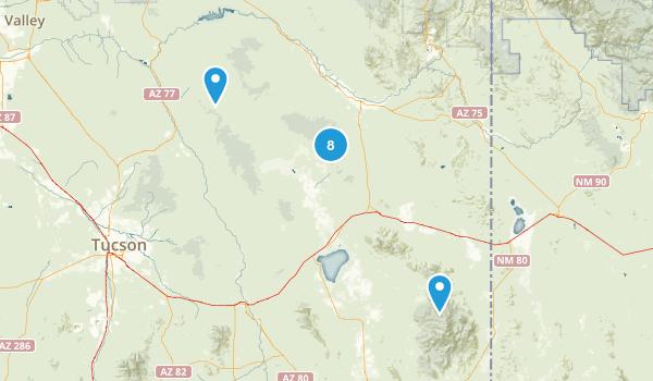 Willcox, Arizona Birding Map