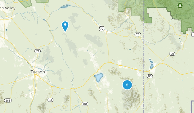 Willcox, Arizona No Dogs Map