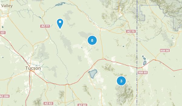 Willcox, Arizona Wildlife Map