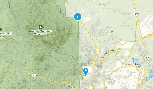 Williamson, Arizona Birding Map