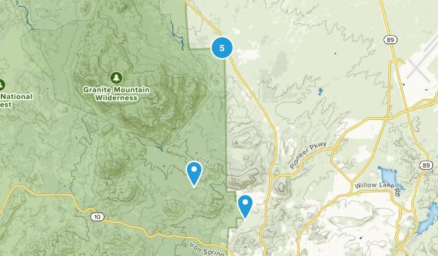 Williamson, Arizona Nature Trips Map