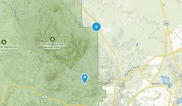Williamson, Arizona Wild Flowers Map