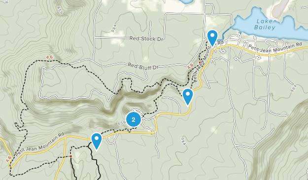 Morrilton, Arkansas River Map