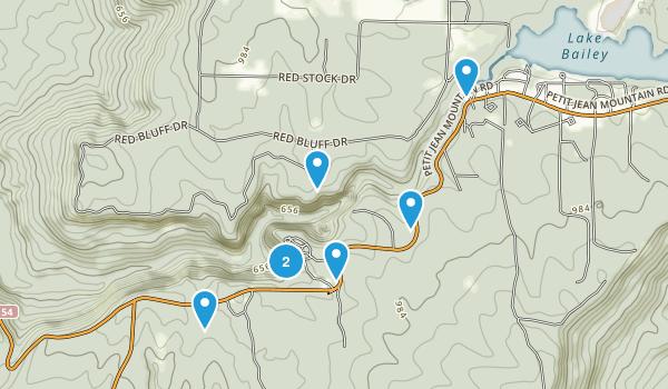 Morrilton, Arkansas Views Map