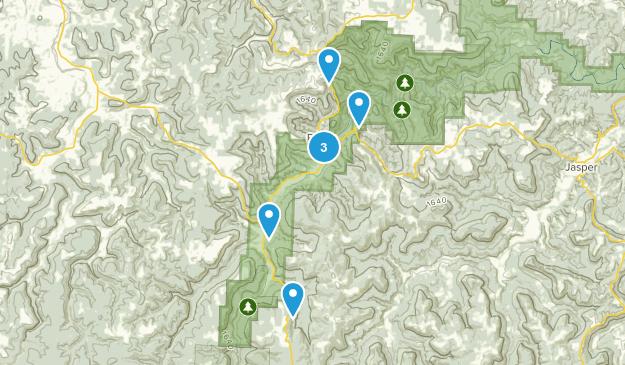 Ponca, Arkansas River Map