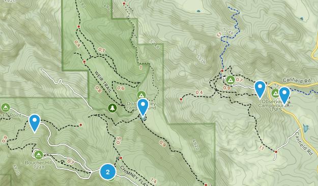 Aguanga, California Wildlife Map