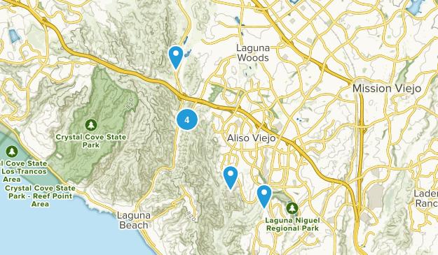 Aliso Viejo, California Birding Map