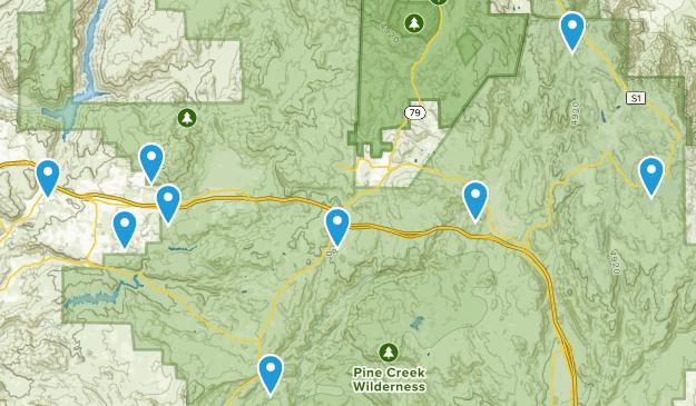 Alpine, California Hiking Map