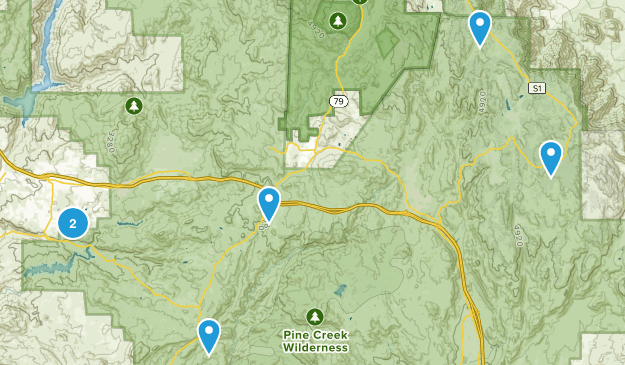 Alpine, California Kid Friendly Map