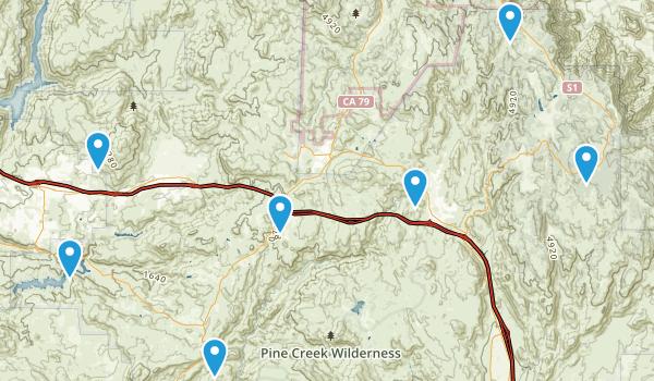 Alpine, California Walking Map