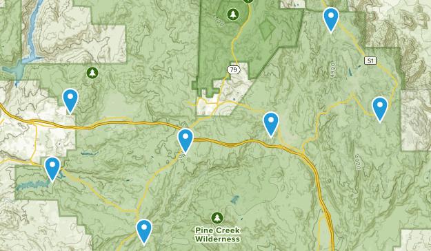 Alpine, California Wildlife Map