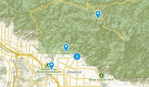 Altadena, California Kid Friendly Map
