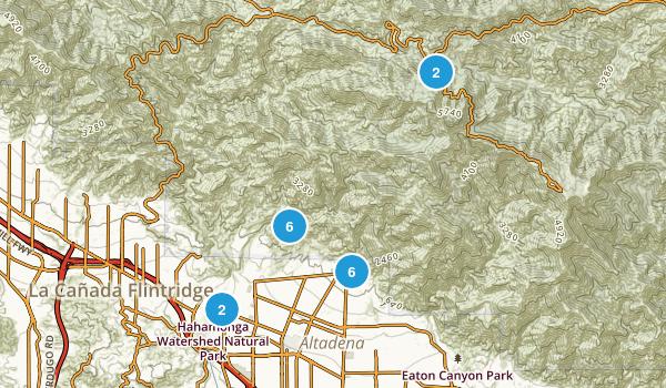 Altadena, California Wildlife Map