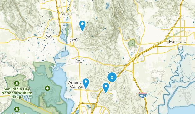 American Canyon, California No Dogs Map