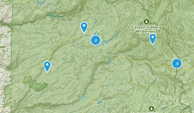 Arnold, Kalifornien Camping Map