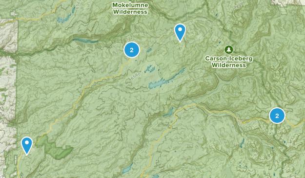 Arnold, California Wildlife Map