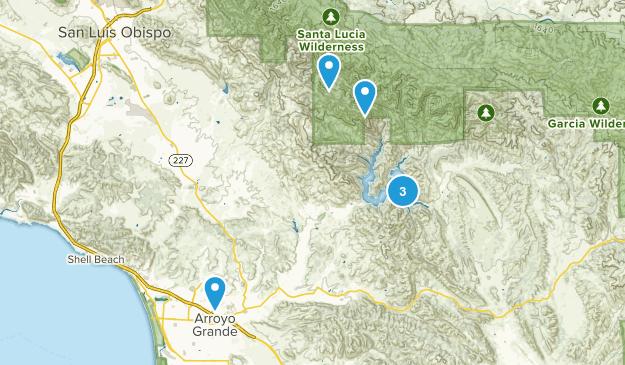 Arroyo Grande, California Kid Friendly Map