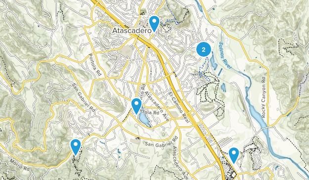 Atascadero, California Views Map