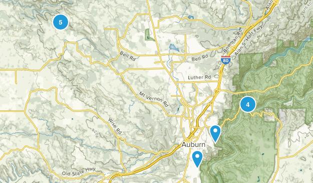 Auburn, California Kid Friendly Map