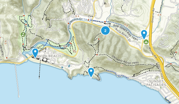 Avila Beach, California Nature Trips Map