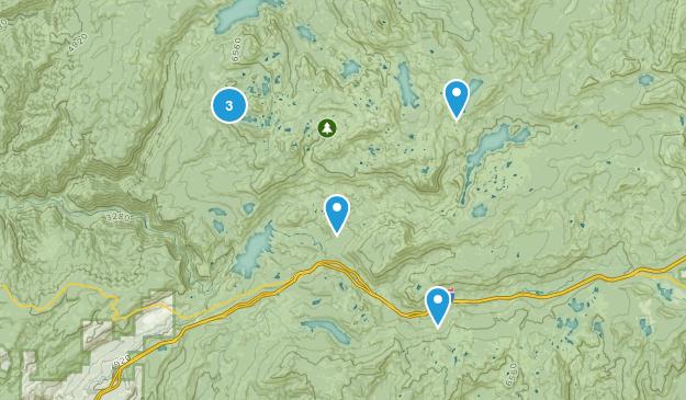 Baltimore Town, California Camping Map