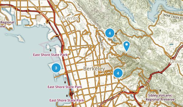 Berkeley, California Dog Friendly Map