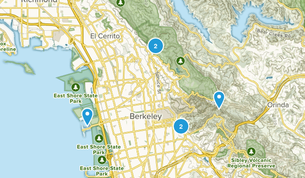 Berkeley, California Wildlife Map
