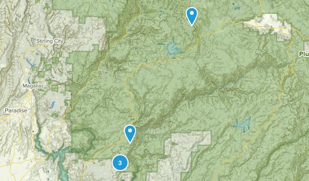 Berry Creek, California Birding Map