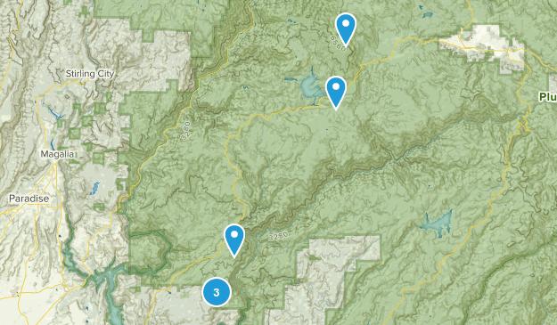 Berry Creek, California Views Map
