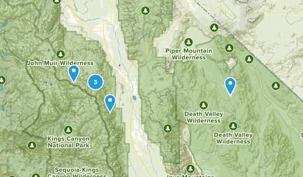 Big Pine, California Walking Map