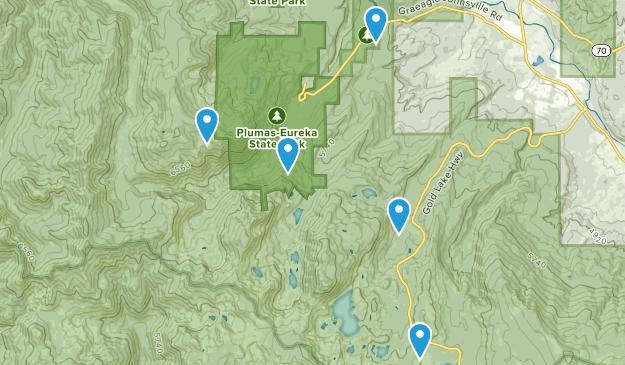 Blairsden-Graeagle, California Kid Friendly Map