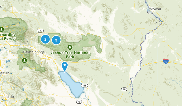 Blythe, California Nature Trips Map