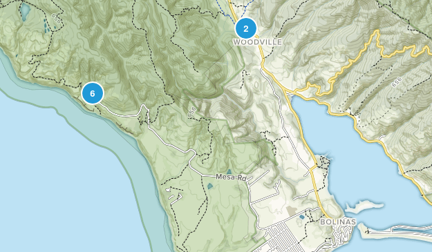 Bolinas, California Birding Map