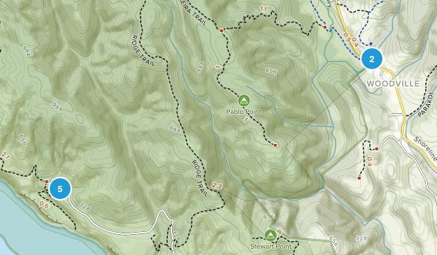 Bolinas, California Walking Map
