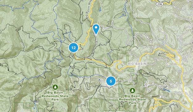 Boulder Creek, California No Dogs Map