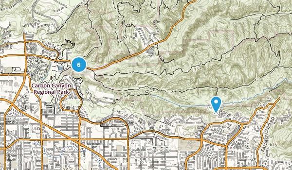 Best Trail Running Trails Near Brea California Photos - Where is brea california on the california map