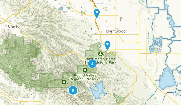 Brentwood, California Kid Friendly Map