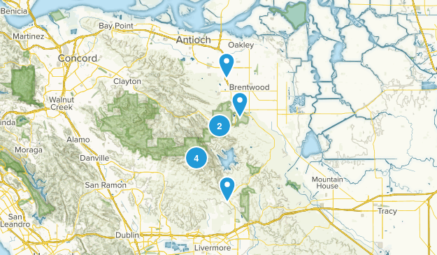 Brentwood, California Nature Trips Map