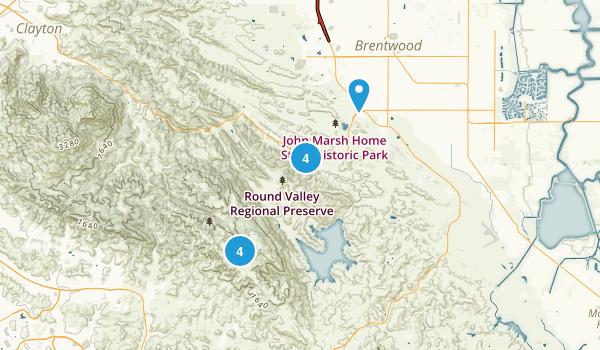 Brentwood, California Wildlife Map