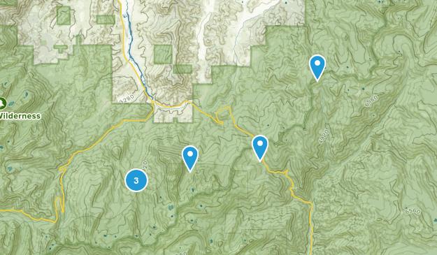 Callahan, California Views Map