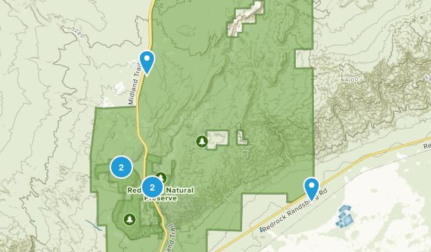 Cantil, California Hiking Map