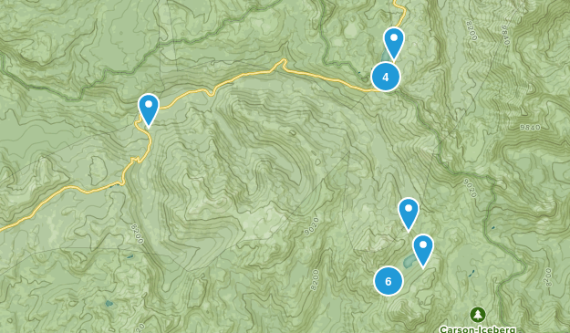 Cape Horn, California Wildlife Map